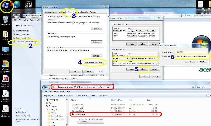 Environment Variable GS