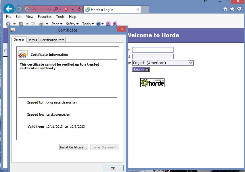 How Can I Access Webmail Without Certificate Error