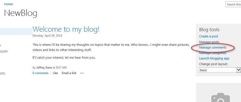 Blog Admin Tools