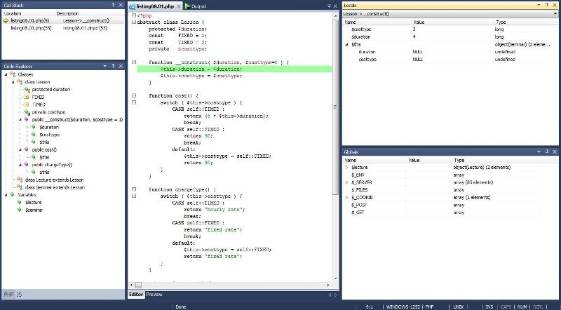 how does local variables know costtype=2 instantly