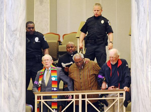 Twenty-three Clergy members were arrested in Missouri