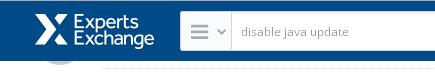 PAQ disable java update