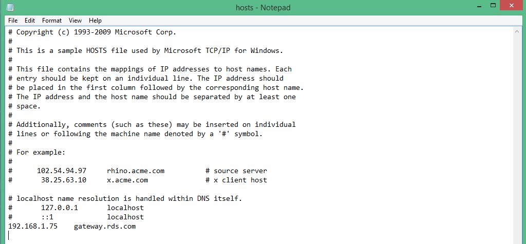 Remote Desktop Services Gateway From Internet