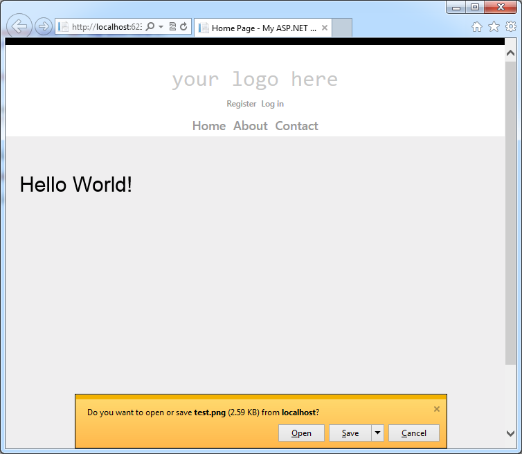 Save HTML5 canvas content as image - filename and extension problem