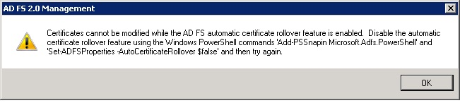 ADFS 3 0 Which Certificate to Export to Partner Domain