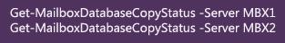 Copy Status