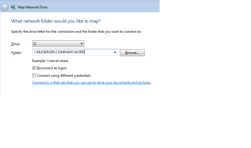 login script location in Windows 2012 Essential