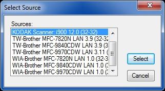 Saving scan from Sharp scanner - SharpDesk alternative?