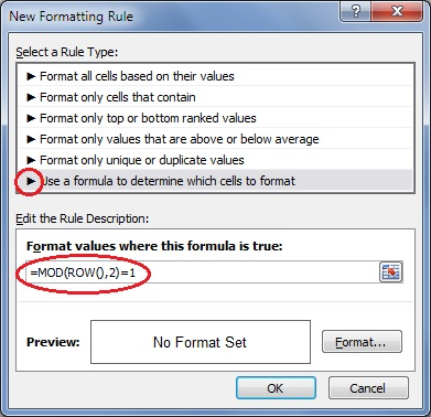 CF-formula