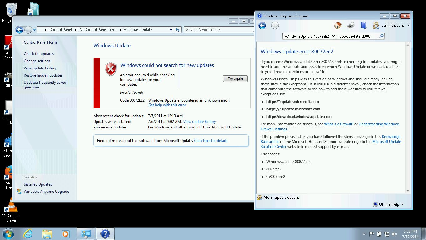 Need Group Policy to permit Windows Update