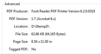 Foxit PDF Producer