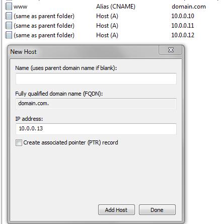 DNS records