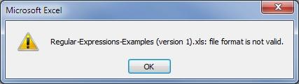 Excel Error