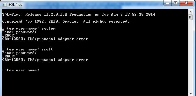 remote access error