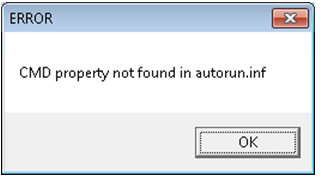 CMD property not found