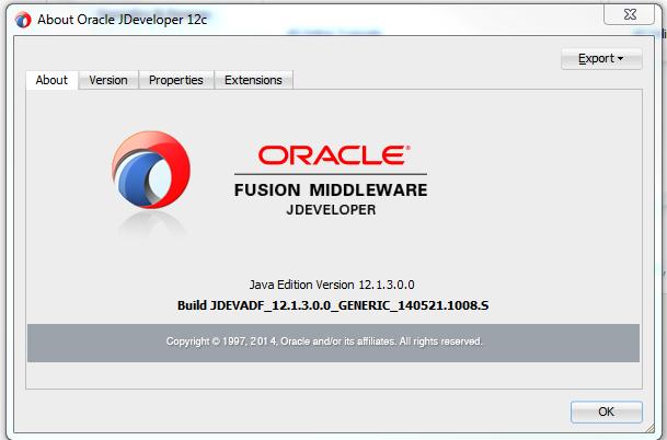 JDeveloper Java Edition screen shot