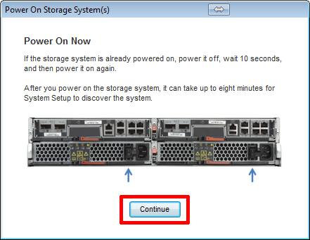 How to set up a new cluster using system setup 3. 0 for clustered.