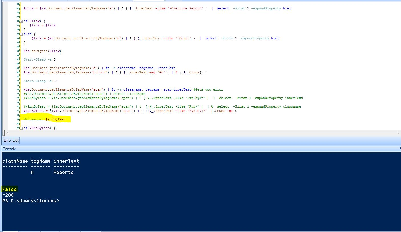 Powershell need to find this value