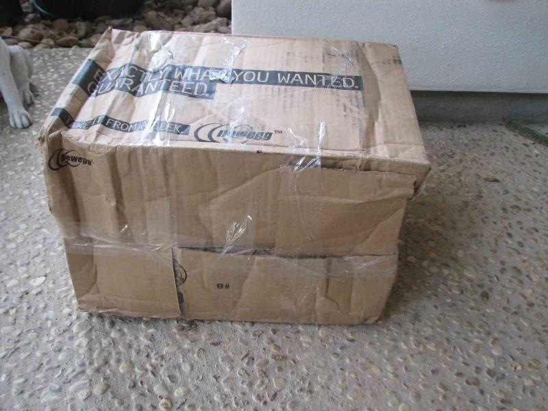 Newegg Hard Drive Shipment