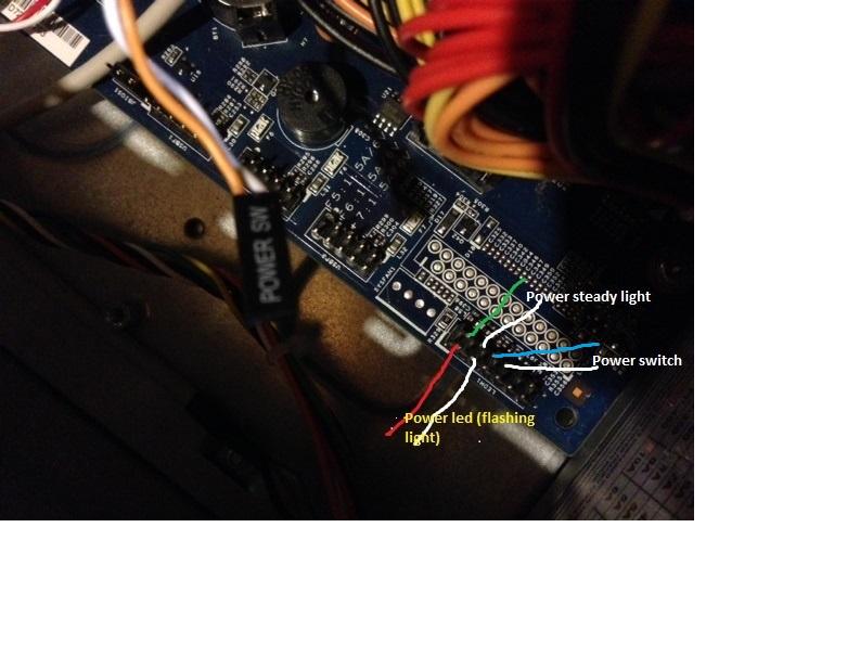 Acer 1200 Motherboard Jumper Pins