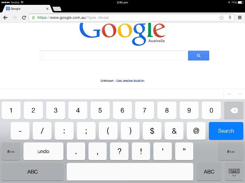 iPad keys 1