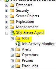 SSMS Agent