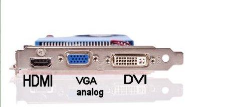 HDMI VGA DVI