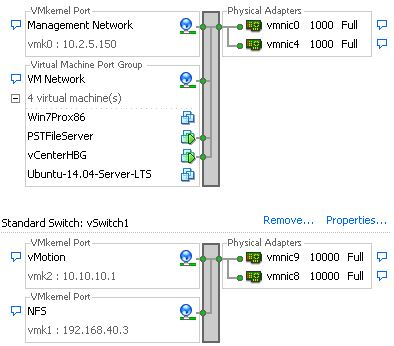 host1 networking