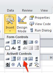 ActiveX listbox