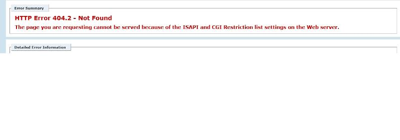 Asp Page error