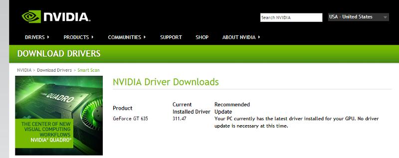 Nvidia scan