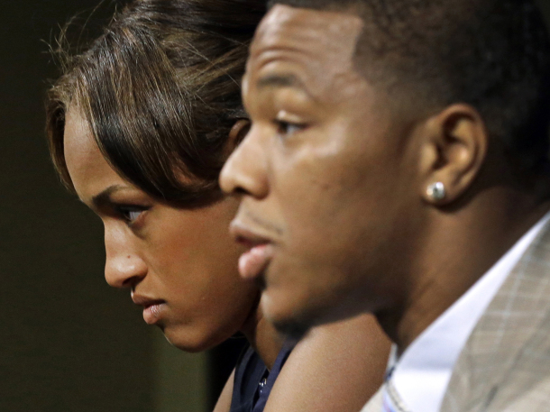 Janay Rice bows out of dispute