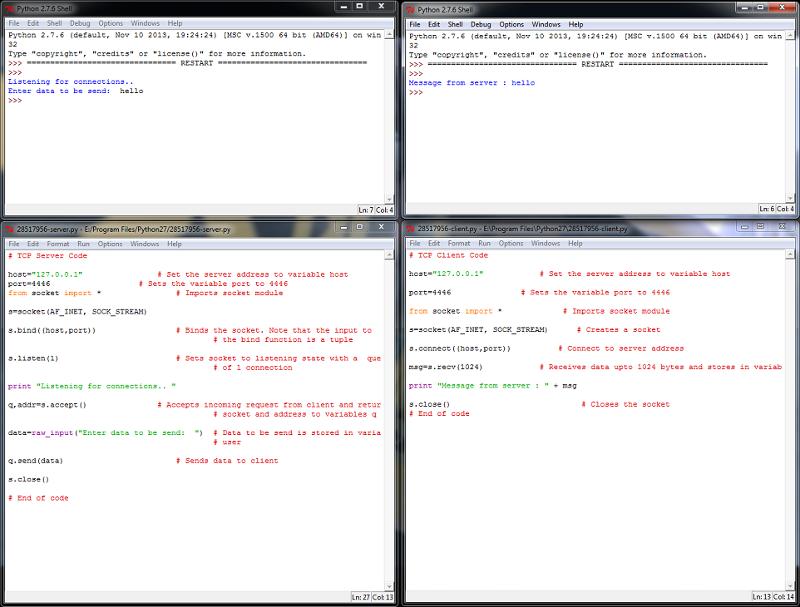 Screenshot (Python 2.7)