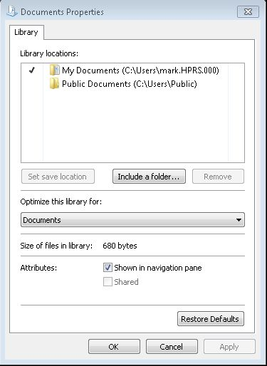 Document Properties