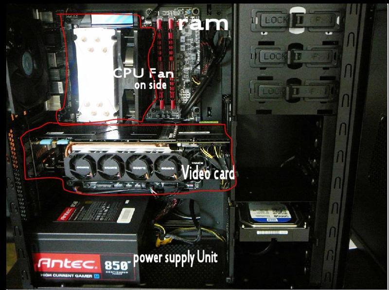 Inside my rig