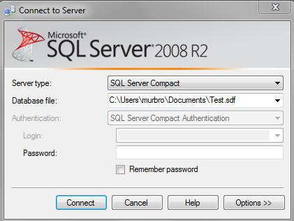 VB net Connection string for SQL Server Compact database on