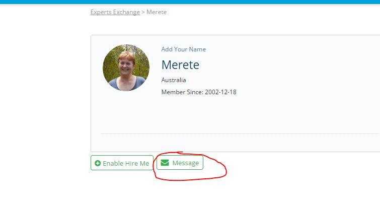message member