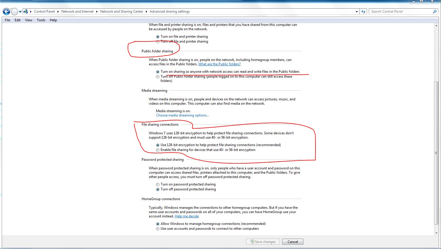 Windows 7 Home Premium - Public network - How to change to Work Network?