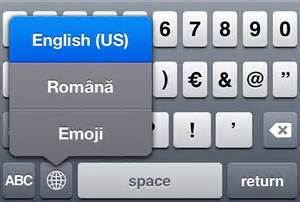 Switch keyboard