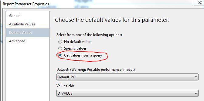 default parameter