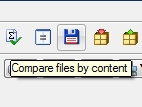 TC Button Bar - compare files by content