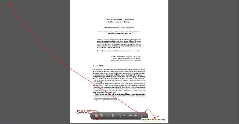 Adobe Bar  PDF on web