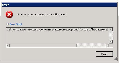 HostDatastoreSystem.QueryVmfsDatastoreCr