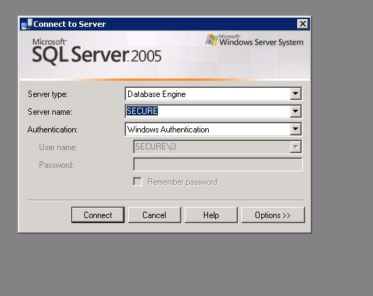 sql server login