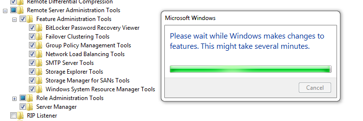 Installing Group Policy Management Tools via GUI