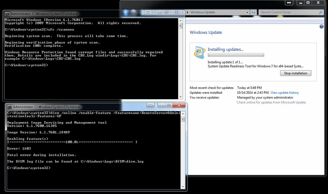 microsoft update readiness tool