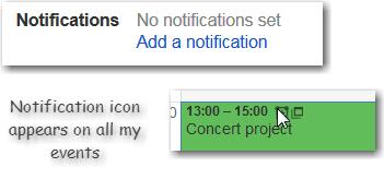 Notification screenshot