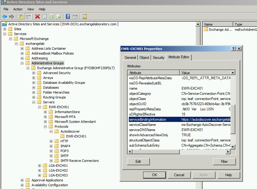 Understanding and Setting Up AutoDiscover for Exchange 2010