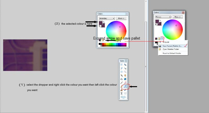 saving colour in Paint Net
