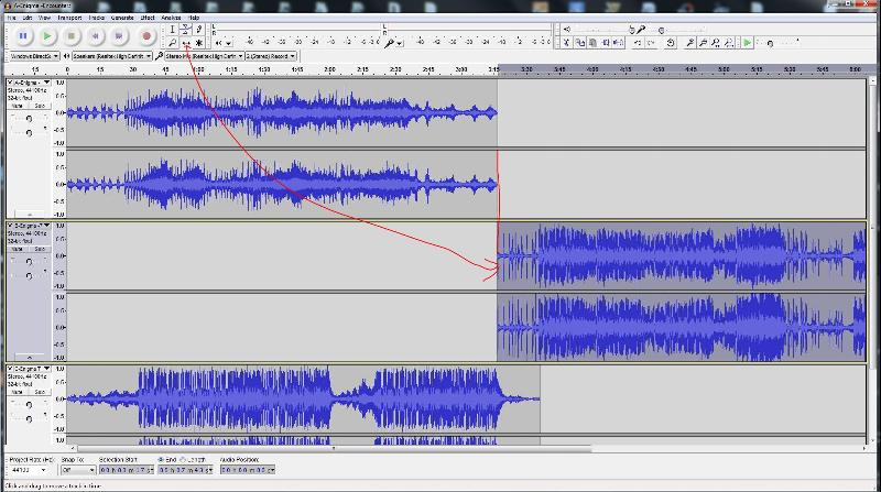 Audacity Time Shift